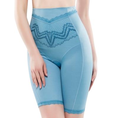 思薇爾  挺享塑系列64-88中機能高腰長筒束褲 北極藍