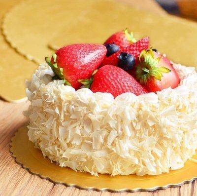 夢饗屋 6吋加厚蛋糕底托  生日蛋糕底盤 (DHP-008)