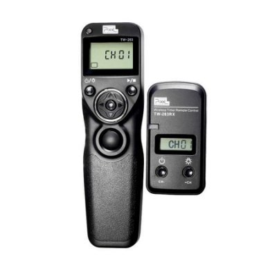 【 Panasonic 國際】品色 Pixel TW-283 無線液晶快門遙控器 縮時攝影 定時 快門線 L1