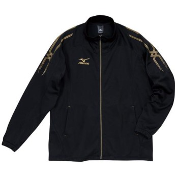 MIZUNO SHOP [ミズノ公式オンラインショップ] ムーブウォームアップシャツ(大きいサイズ) 99 ブラック×ブラック A60SB300_b