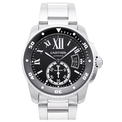 CARTIER 卡地亞Calibre 300米潛水機械腕表(W7100057)-42mm