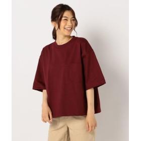 【10%OFF】 フレディアンドグロスター MAX WEIGHT CUT POCKET Tシャツ レディース ボルドー XL 【FREDY & GLOSTER】 【タイムセール開催中】