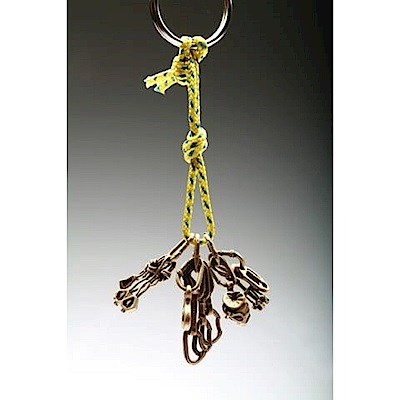 SAC #11 青銅鑰匙圈掛飾 現代攀登