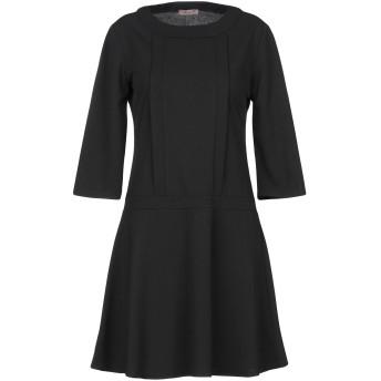 《セール開催中》AMELIE RVEUR レディース ミニワンピース&ドレス ブラック M ポリエステル 95% / ポリウレタン 5%