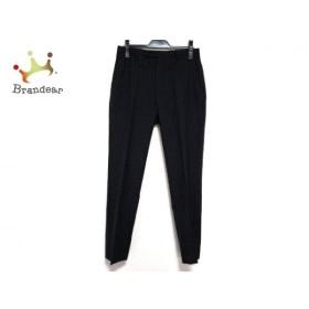 バーバリーブラックレーベル Burberry Black Label パンツ メンズ 黒×ライトグレー ストライプ   スペシャル特価 20190909