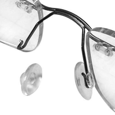 眼鏡專用超柔軟卡式 夾式鼻墊 鼻托(三對6入)