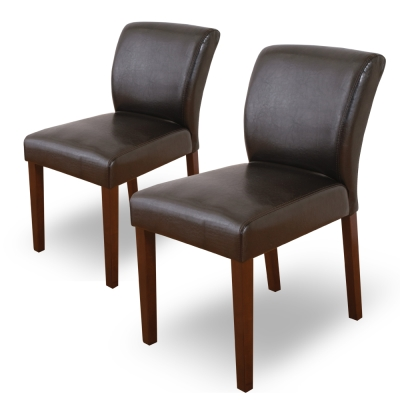 Boden-托比簡約實木餐椅/單椅(黑色)(二入組合)-42x58x78cm
