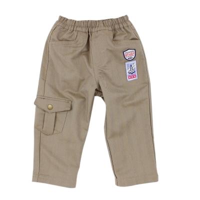 愛的世界 MYBABY 太空人鬆緊帶休閒長褲 6~12歲
