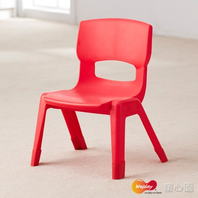 Weplay 30cm輕鬆椅-紅(12M+)