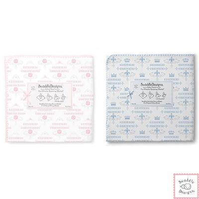 Swaddle Designs 法蘭棉絨多用途嬰兒包巾-歐風貴族