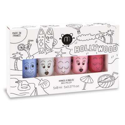 Nailmatic 好萊塢水漾亮彩指甲油(5入) 兒童無毒指甲油