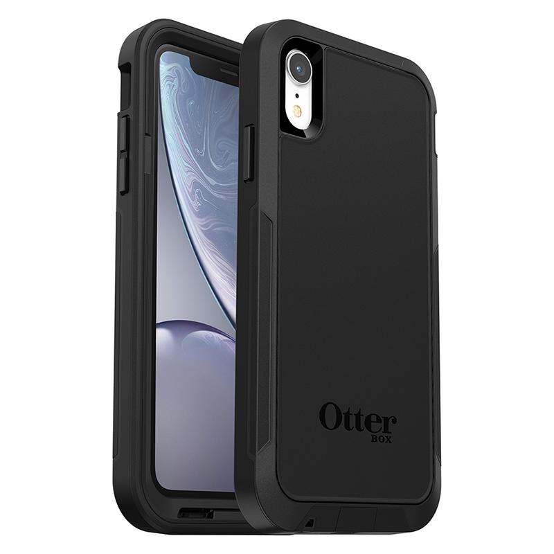 【OtterBox】iPhone XR Pursuit 探索者系列 防撞保護殼 黑