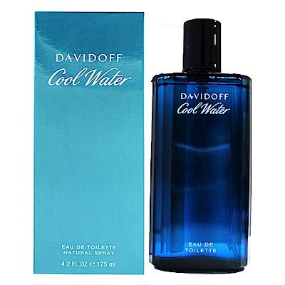 Davidoff Cool Water 冷泉 男性淡香水125ml