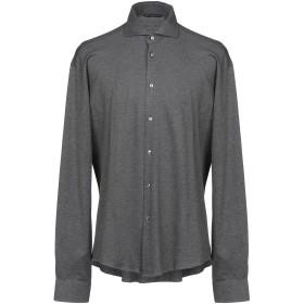 《期間限定セール開催中!》BRIAN DALES メンズ シャツ 鉛色 41 100% コットン