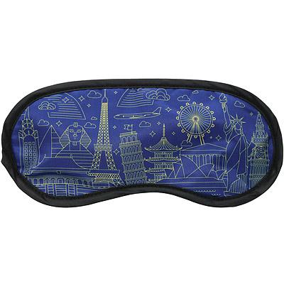 DQ 輕旅眼罩(世界藍圖)