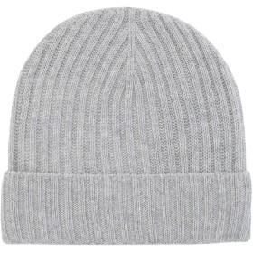 《期間限定セール開催中!》8 by YOOX Unisex 帽子 ライトグレー one size カシミヤ 100%