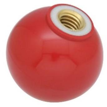 【メーカー在庫あり】 000012293167 M10x32mm 雌ねじプラスチックボール(レッ HD店