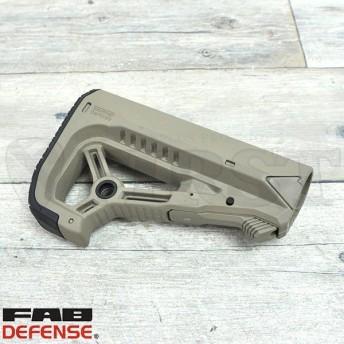 FAB DEFENSE GL-CORE-S AR15/M4 CQB コンバットストック FDE フラットダークアース エアガン 電動ガン用パーツ