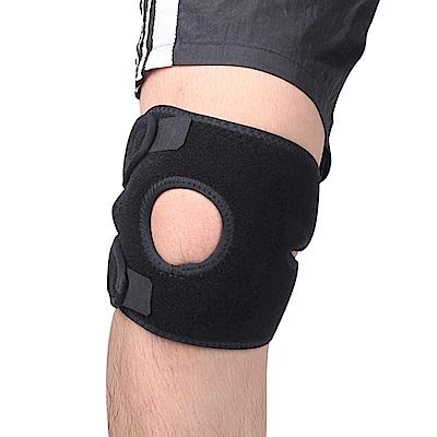 PUSH!運動用品可調式親膚透氣護膝H30