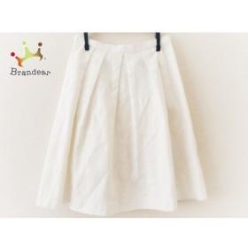アプワイザーリッシェ Apuweiser-riche スカート サイズ1 S レディース 美品 白   スペシャル特価 20190930