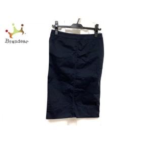 ニジュウサンク 23区 スカート サイズ40 M レディース 美品 ネイビー 新着 20190618