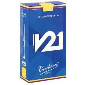 Vandoren バンドレン / V21 B♭クラリネット用リード (#2 1/2)(10枚入)(ウインドパル)(SALE2019)
