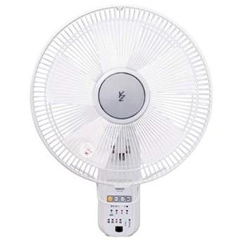 山善(YAMAZEN) 扇風機 30cm 壁掛扇 マイコンスイッチ 風量4段階調節 タイマー機能 リモコン付き ホワイト YWX-K306(W)