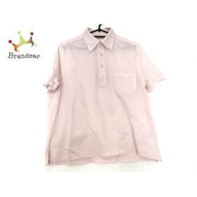 ゼニア ErmenegildoZegna 半袖ポロシャツ サイズS メンズ 美品 ピンク 新着 20190618