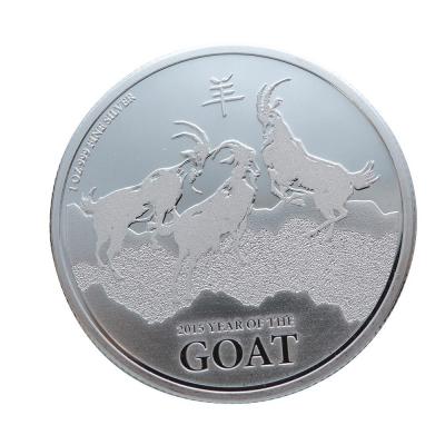 紐西蘭(New Zealand)生肖紀念銀幣-2015羊年生肖銀幣(1盎司)