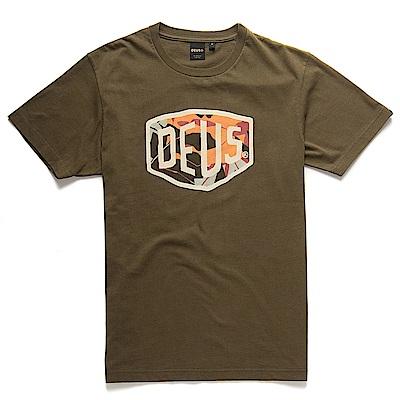 Deus Ex Machina 迷彩盾牌T恤