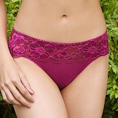 曼黛瑪璉 Hibra大波 低腰三角萊克內褲(莓紅粉)