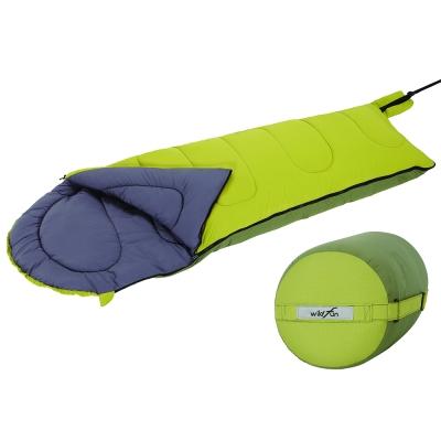 WildFun 野放抗菌防臭安心睡袋 草綠/橄欖綠