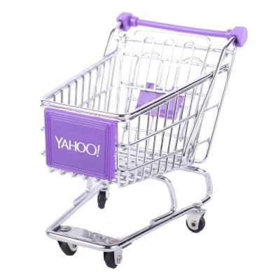 Yahoo! 迷你收納購物推車(單層)套裝組50台