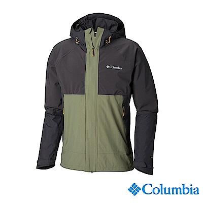 Columbia 哥倫比亞 男款-OT防水外套-軍綠 URE00250AG
