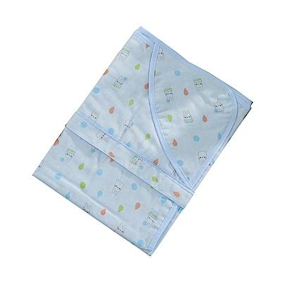 魔法Baby 嬰兒純棉紗布多功能包巾 b0161