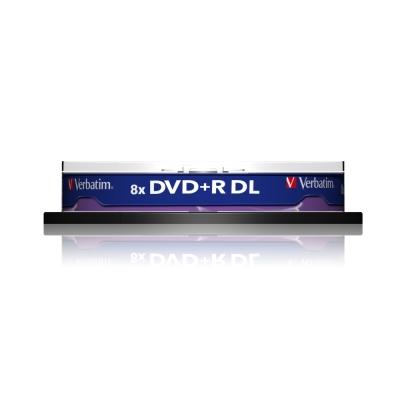 威寶 國際版 AZO 8X 8.5GB DVD + R DL 桶裝 (10片)
