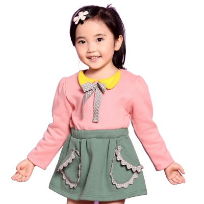 魔法Baby~厚刷毛內裡甜美洋裝/連身裙~k32567