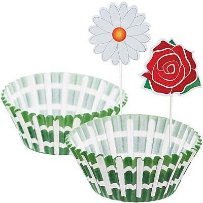 Sweetly 蛋糕紙模裝飾組(花園)