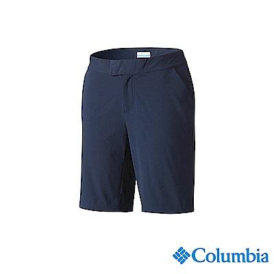 Columbia 哥倫比亞 女款-UPF50 防潑短褲-深藍 UFK00120NY