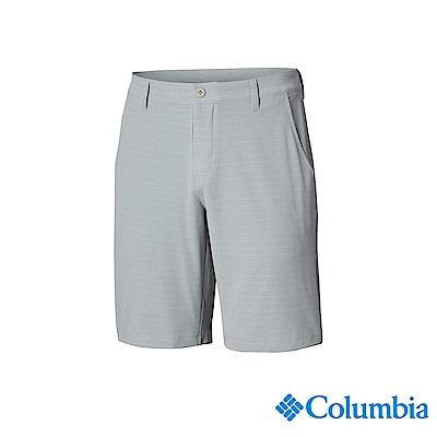 Columbia 哥倫比亞 男款-UPF50防潑短褲-灰色 UFM02380GY