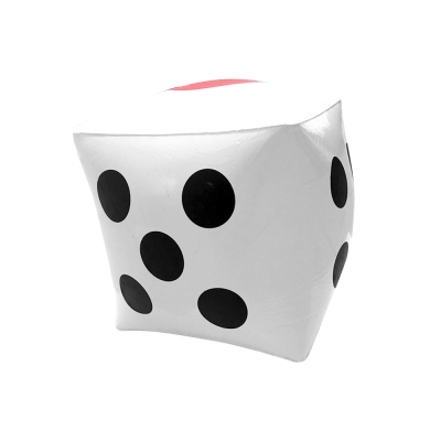 WEKO 20cm充氣骰子玩具1入(WE-DI20)