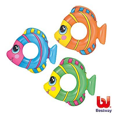 凡太奇 Bestway 可愛熱帶魚造型充氣泳圈 36111 - 速