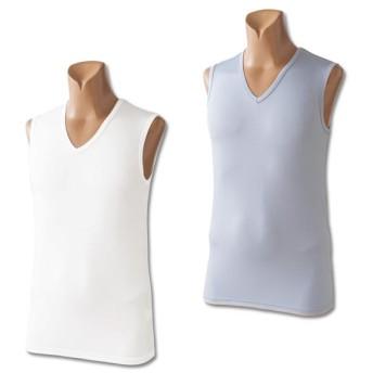 メンズドライスリーブレスシャツ