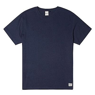Deus Ex Machina 素色深藍T恤