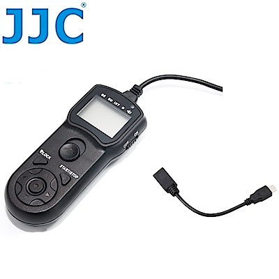 JJC 副廠Fujifilm定時快門線遙控器TM-K+K2O相容RR-80A快門線適用Finepix HS50 EXR