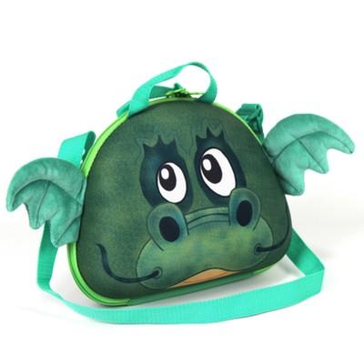 德國okiedog 兒童3D動物造型餐具盒_龍