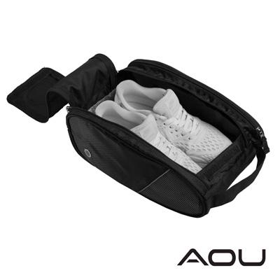 AOU 旅行收納萬用袋 鞋袋 鞋包 (黑) 66-041