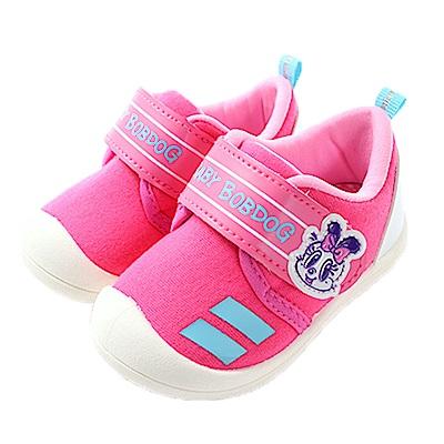 魔法Baby 女寶寶 台灣製BOB DOG正版強止滑童鞋 sk0611