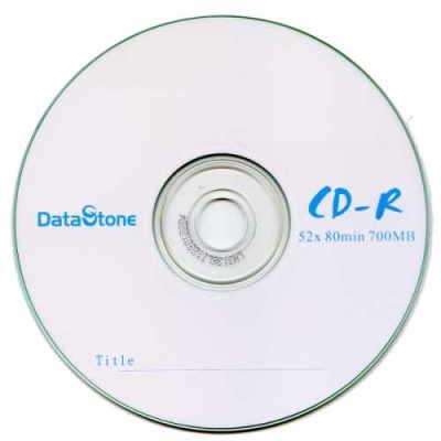 DataStone A級 簡約白 52X  CD-R 白金片裸裝( 50片)