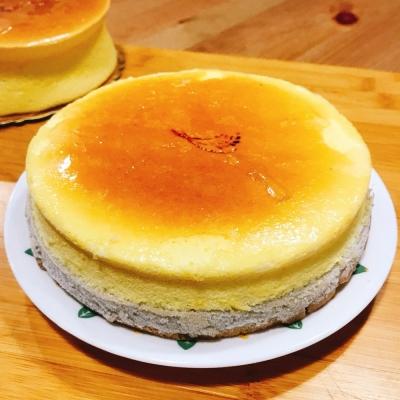 樂活e棧 生日快樂蛋糕 香芋愛到泥乳酪蛋糕 6吋 共1顆